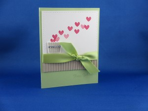 Sending Love Birthday Card